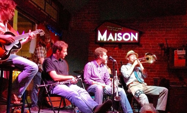 jazz music new orleans, the maison new orleans, the maison, frenchmen street, maison frenchmen, frenchmen jazz, live music venue frenchmen, maison music venue, new orleans music venue