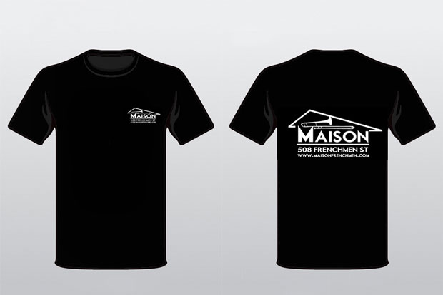 The Maison, New Orleans, T Shirt, Merchandise, Souvenir