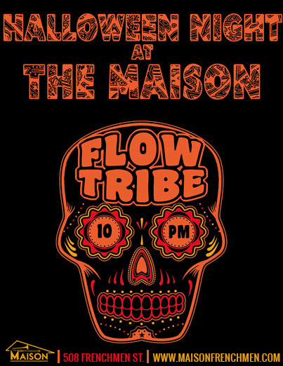 The Maison, Frenchmen Street, Halloween Night, Halloween New Orleans, Voodoo Fest New Orleans, Halloween Frenchmen St
