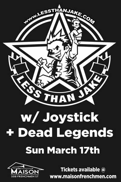 less than jake live at the maison new orleans march 17th, 2013