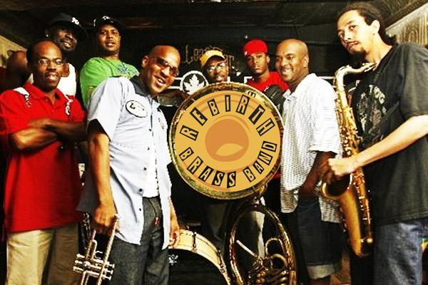 rebirth brass band, the maison frenchmen street new orleans, jazz fest late night new orleans