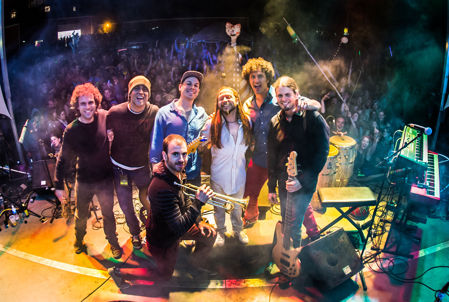 The Motet Jazz Fest 2015 Late Night Show at The Maison