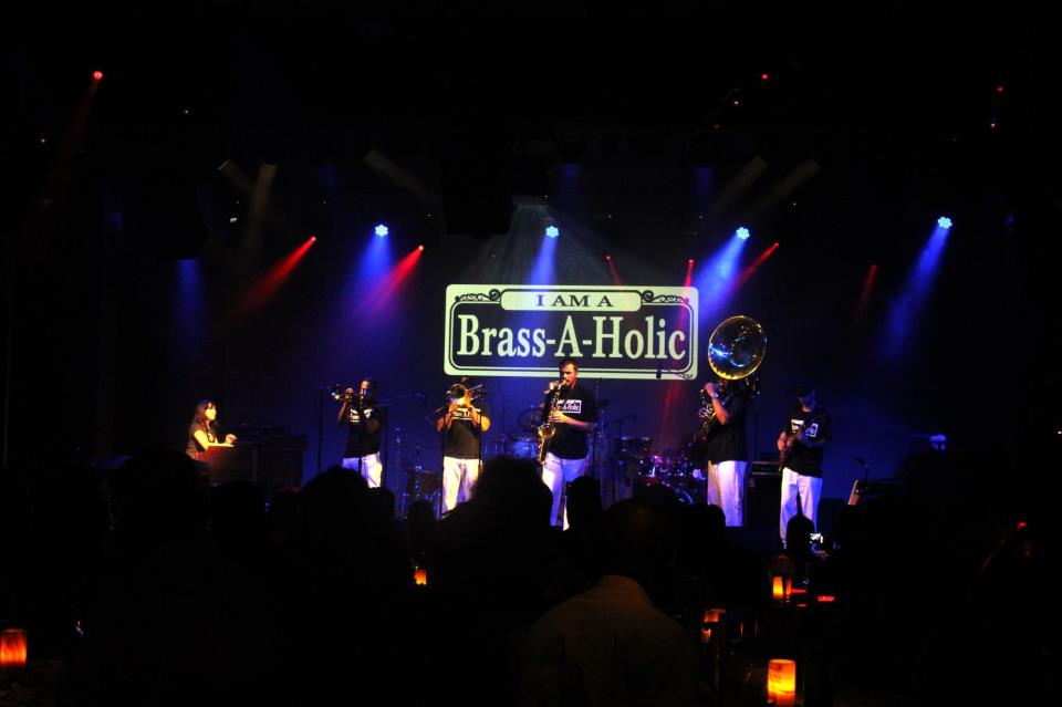 BRASS-A-HOLICS LIVE AT THE MAISON IN NEW ORLEANS, LA