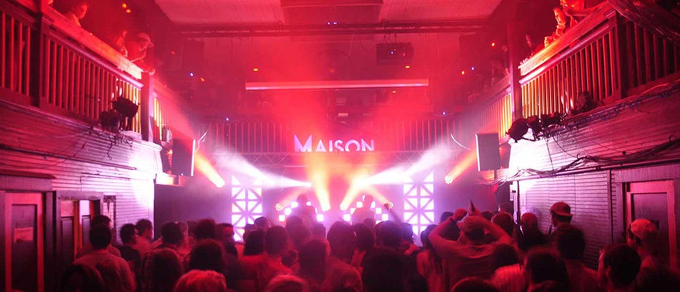 The Maison Premier Live Music Venue in New Orleans