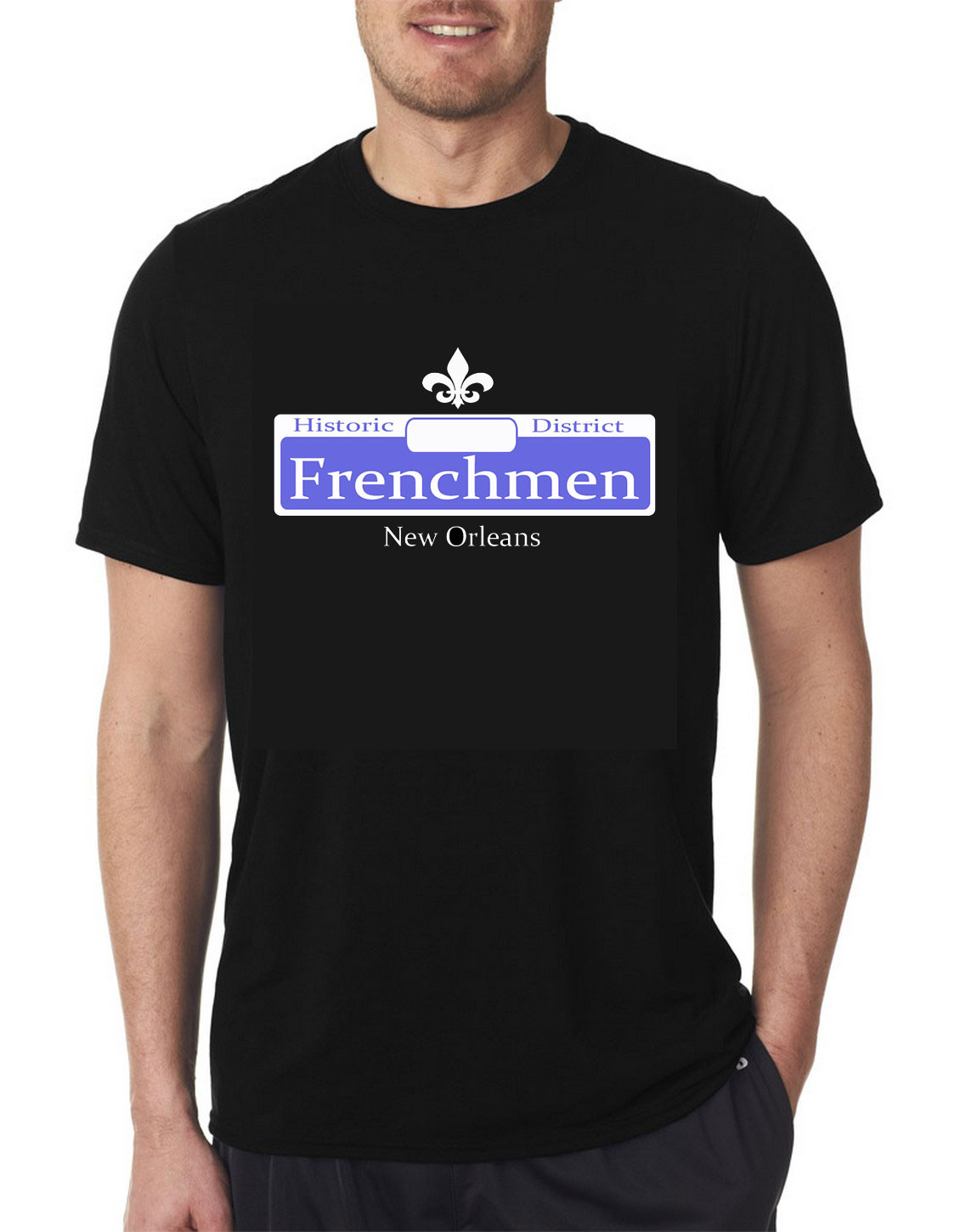 The Maison Frenchmen Street Sign T-Shirt
