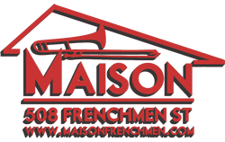 The Maison 508 Frenchmen Street New Orleans Logo