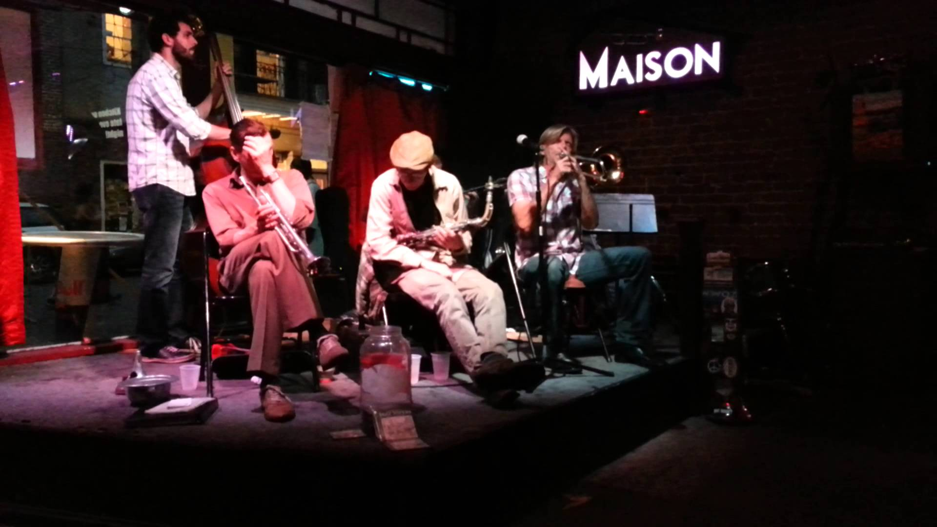 The New Orleans Jazz Vipers Wednesdays at The Maison in New Orleans