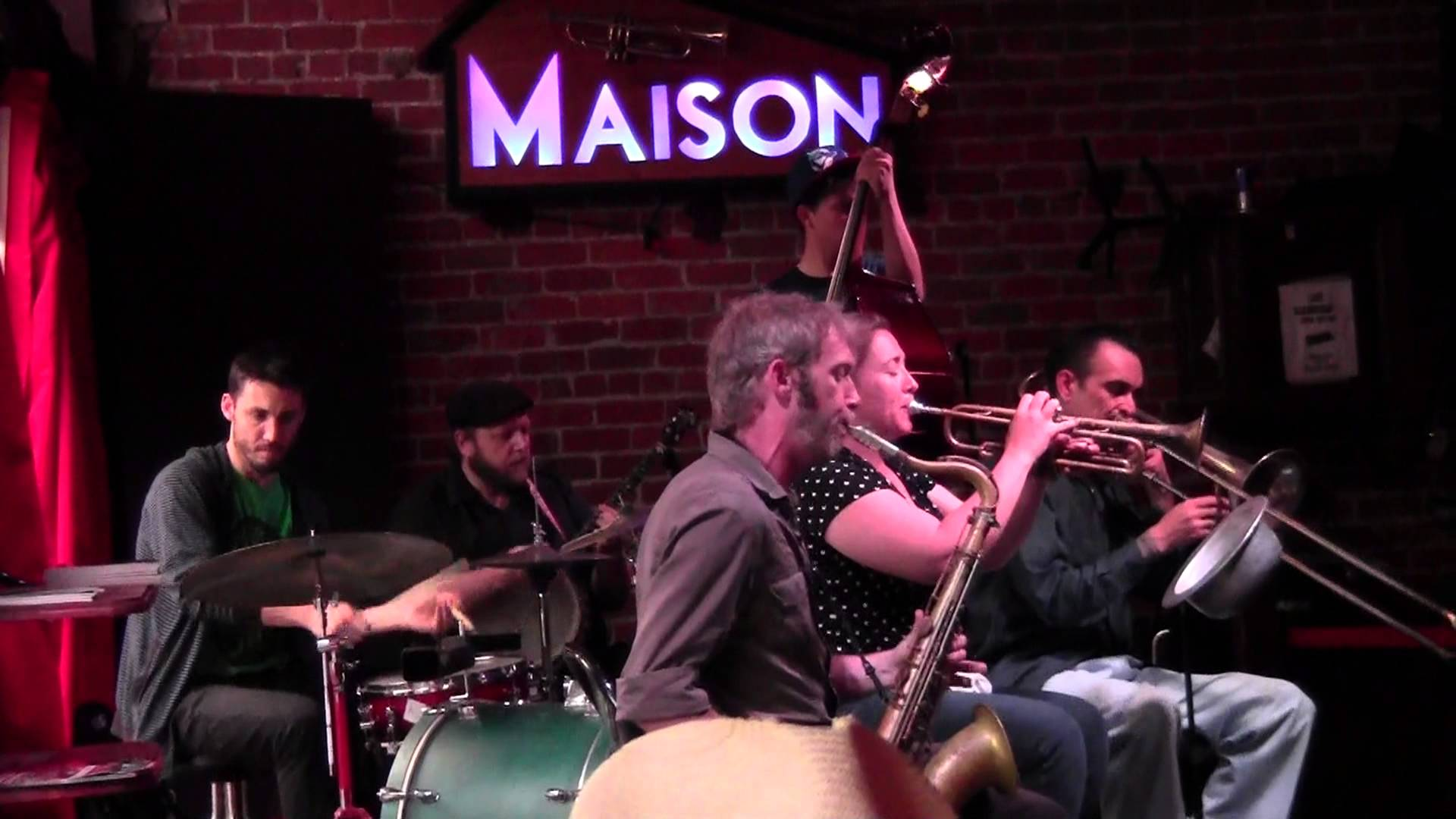 The Shotgun Jazz Band Fridays at The Maison