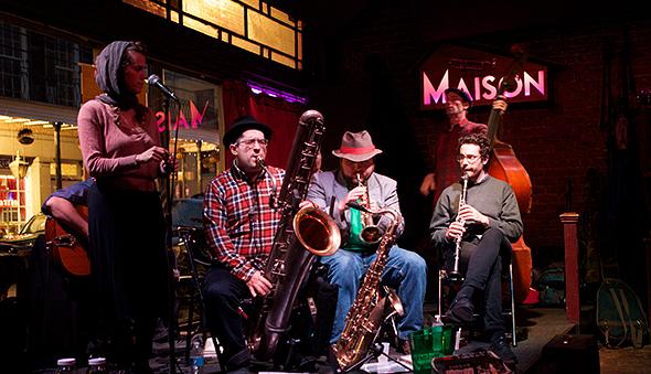 Smoking Time Jazz Club Saturdays at The Maison