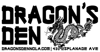 The Dragon's Den at Frenchmen Street and Esplanade Ave in New Orleans LA