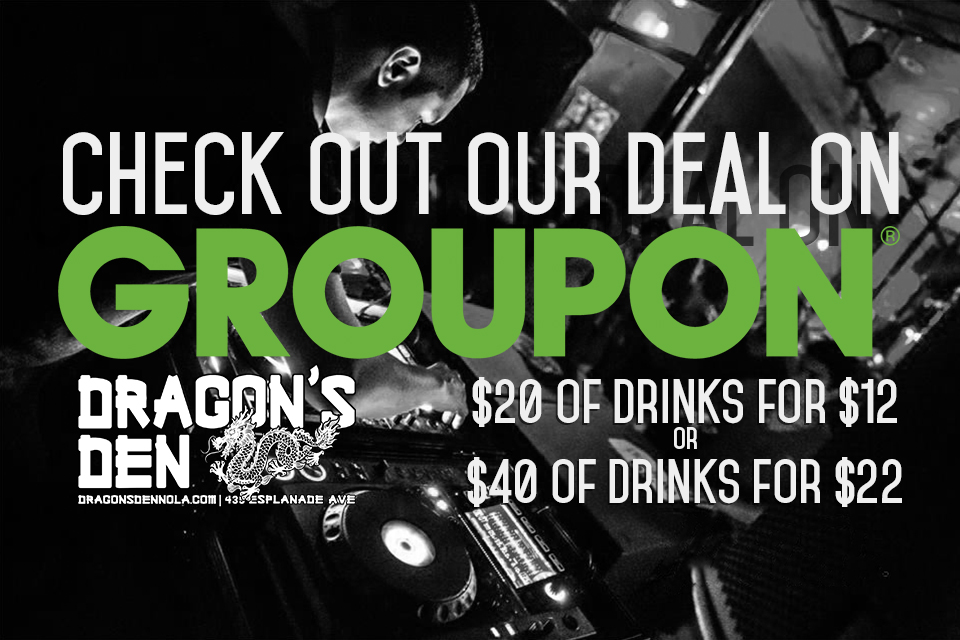Groupon deal for The Dragon's Den in New Orleans
