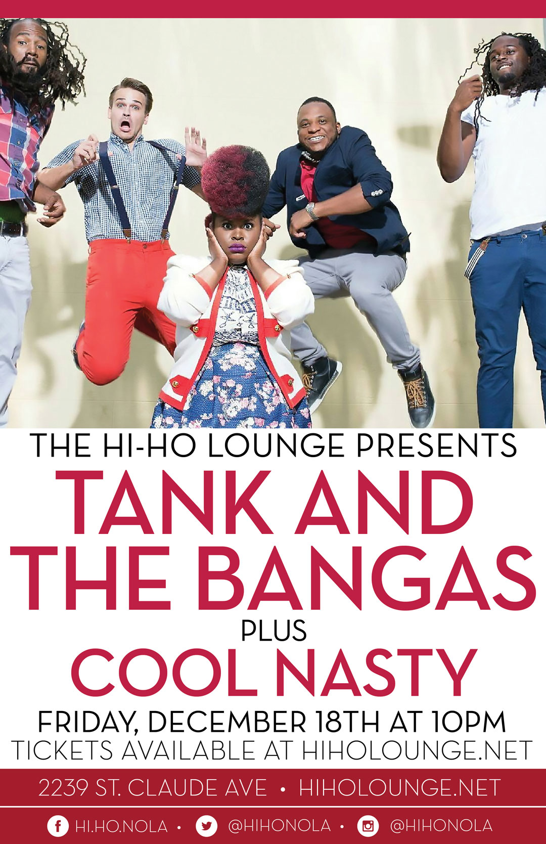 Tank and The Bangas at The Hi Ho lounge