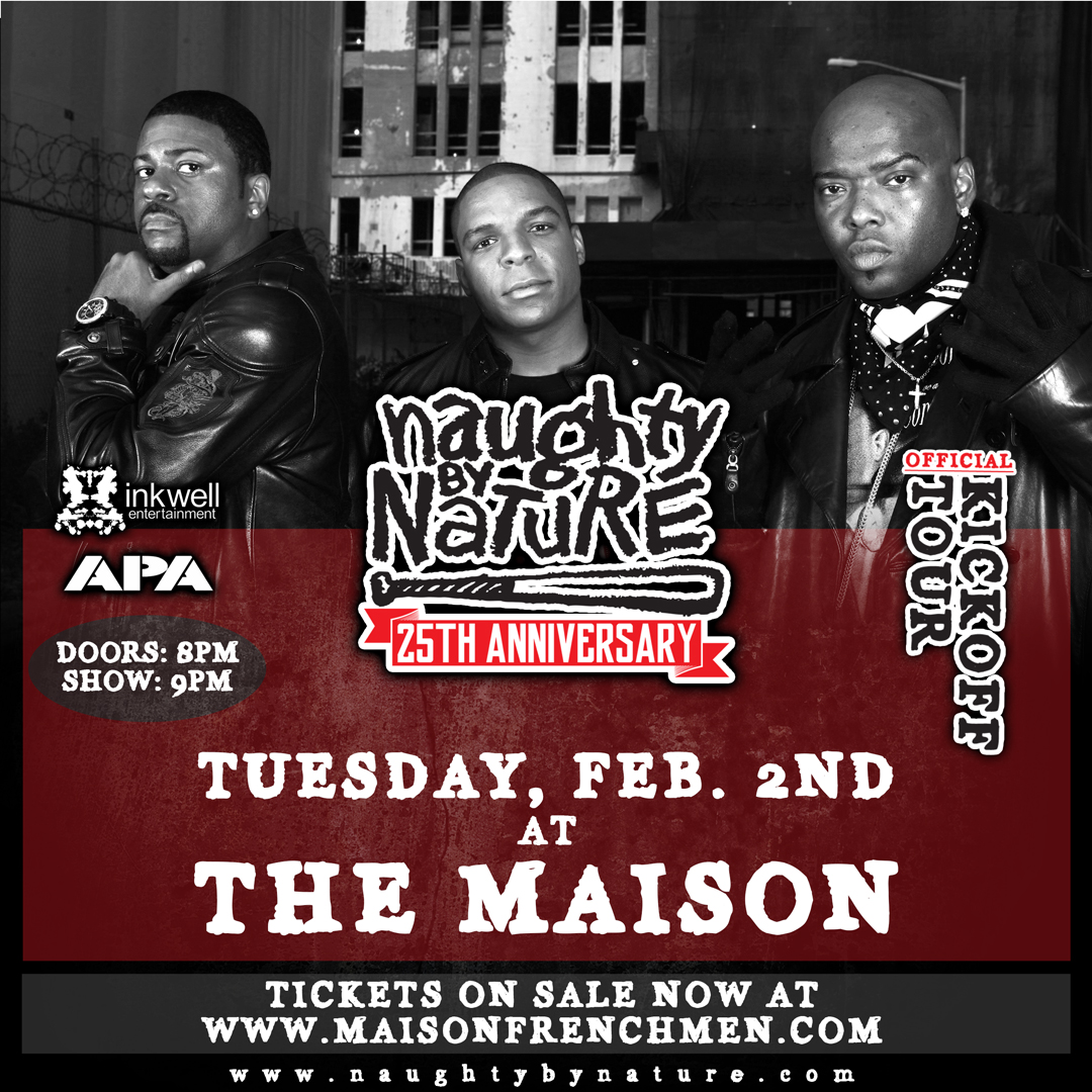 Naughty By Nature live at The Maison in New Orleans, LA