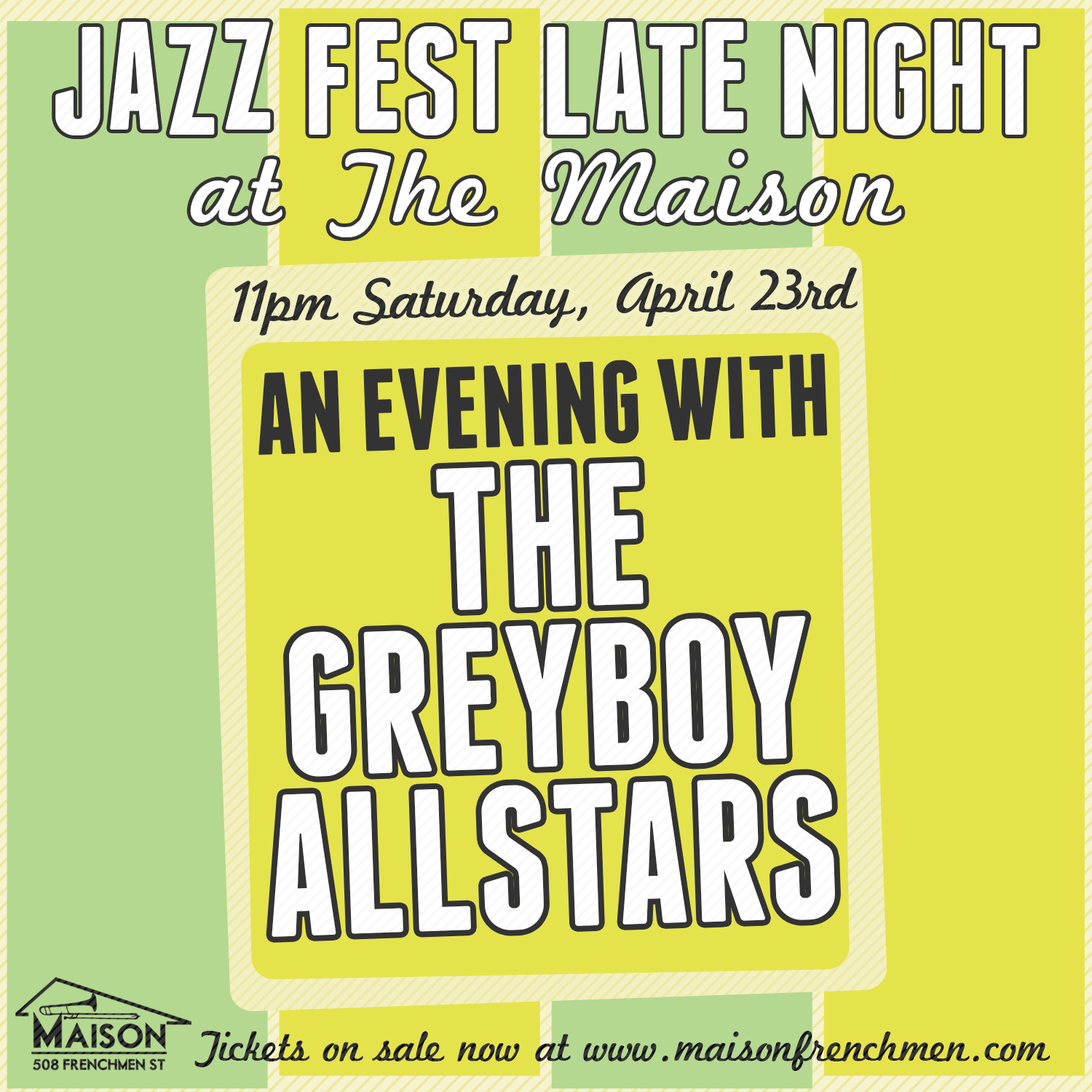 New Orleans Jazz Fest 2016 Late Night with The Greyboy Allstars at The Maison on Frenchmen Street