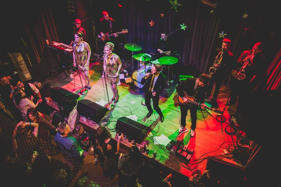 THE NIGHTOWLS AUSTIN FUNK BAND LIVE AT THE MAISON