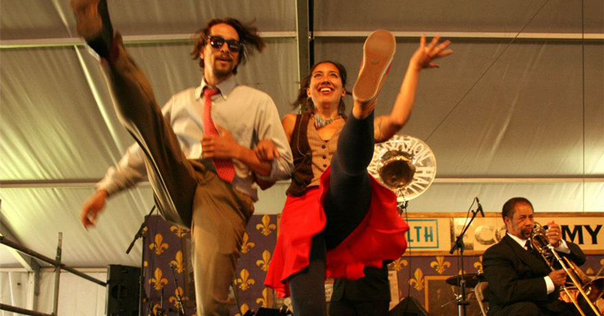 Swing Dance Lessons & Dinner at The Maison every Tuesday