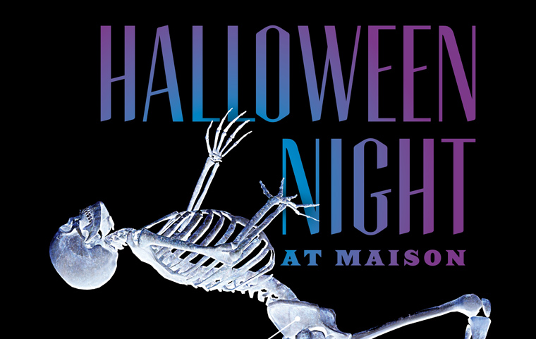 HALLOWEEN NIGHT EXTRAVAGANZA WITH BRASS-A-HOLICS AT THE MAISON