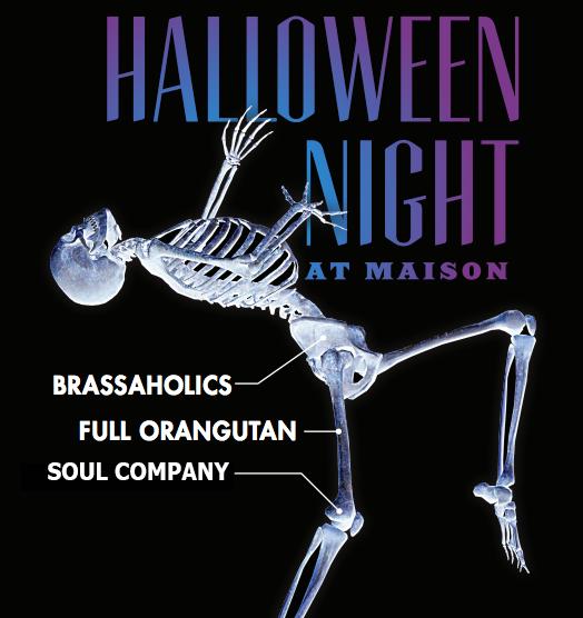 Halloween Night at The Maison 2016
