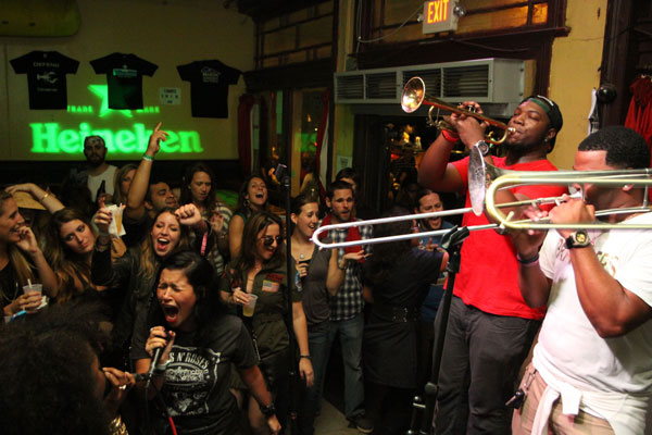 Big Easy Brawlers New Orleans Funk band at The Maison