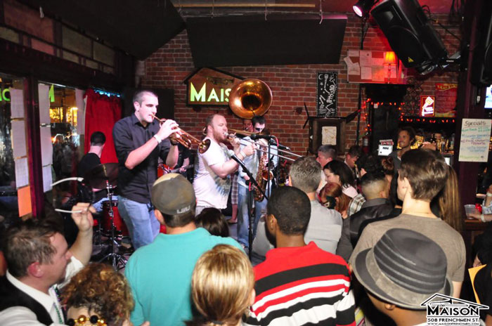 Dysfunktional Bone New Orleans Funk Band at The Maison