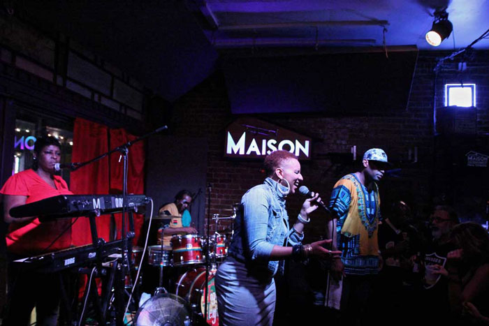 Higher Heights Reggae Band every Sunday at 10PM at The Maison