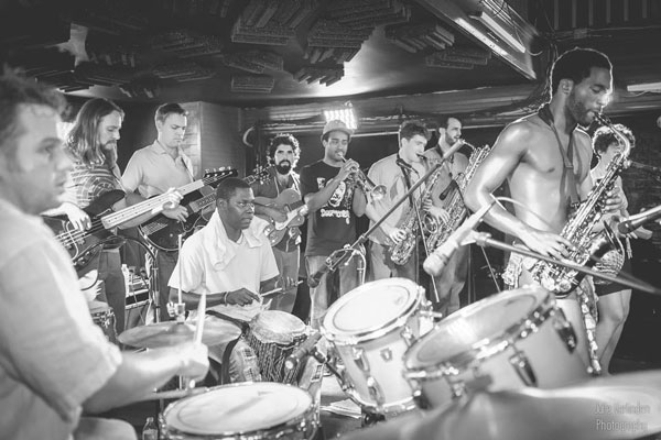 Kumasi Afrobeat Orkestra Live at The Maison on Frenchmen St