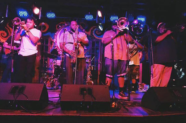 Mainline Brass Band Live at The Maison on Frenchmen St