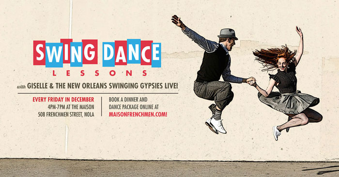 Swing Dance Classes at The Maison on Frenchmen Street