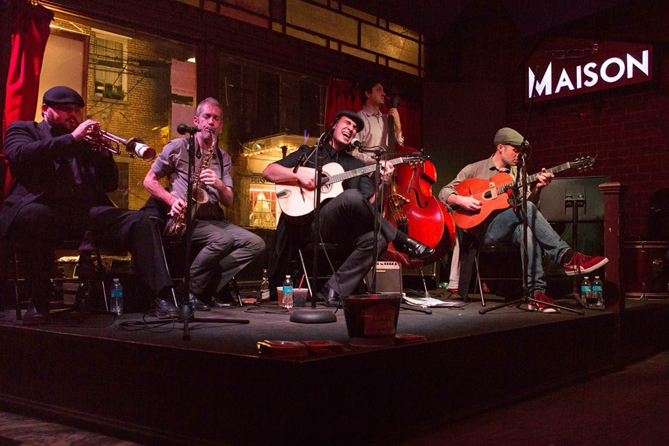 new orleans swinging gypsies live at the maison
