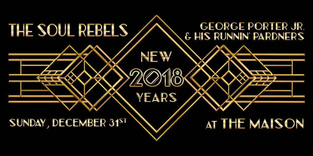 New Years Eve 2018 at The Maison
