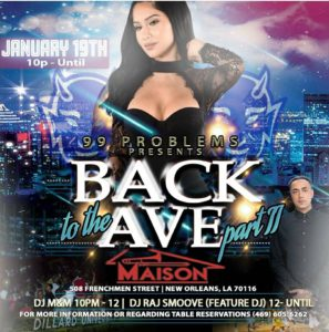 Back on the Ave: Dillard U Alumni Bash @ The Maison | New Orleans | Louisiana | United States