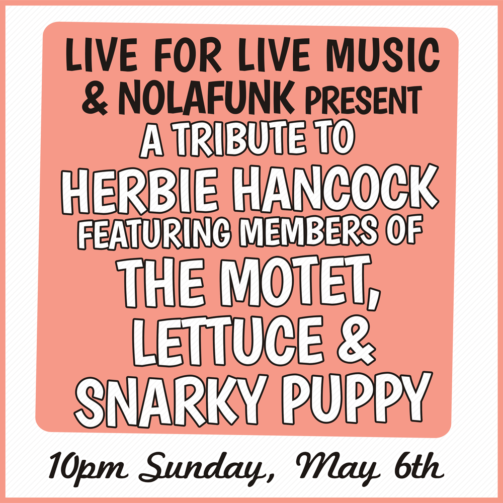 Live for Live Music presents a Tribute to Herbie Hancock