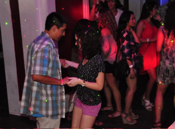 Buena Vista Social Latin Dance party every Friday upstairs at The Maison