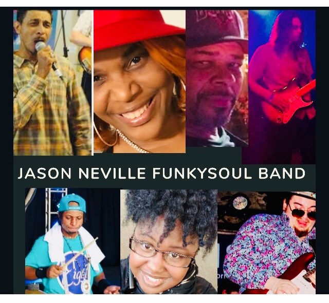 Jason Neville & The Funk Soul Band @ The Maison